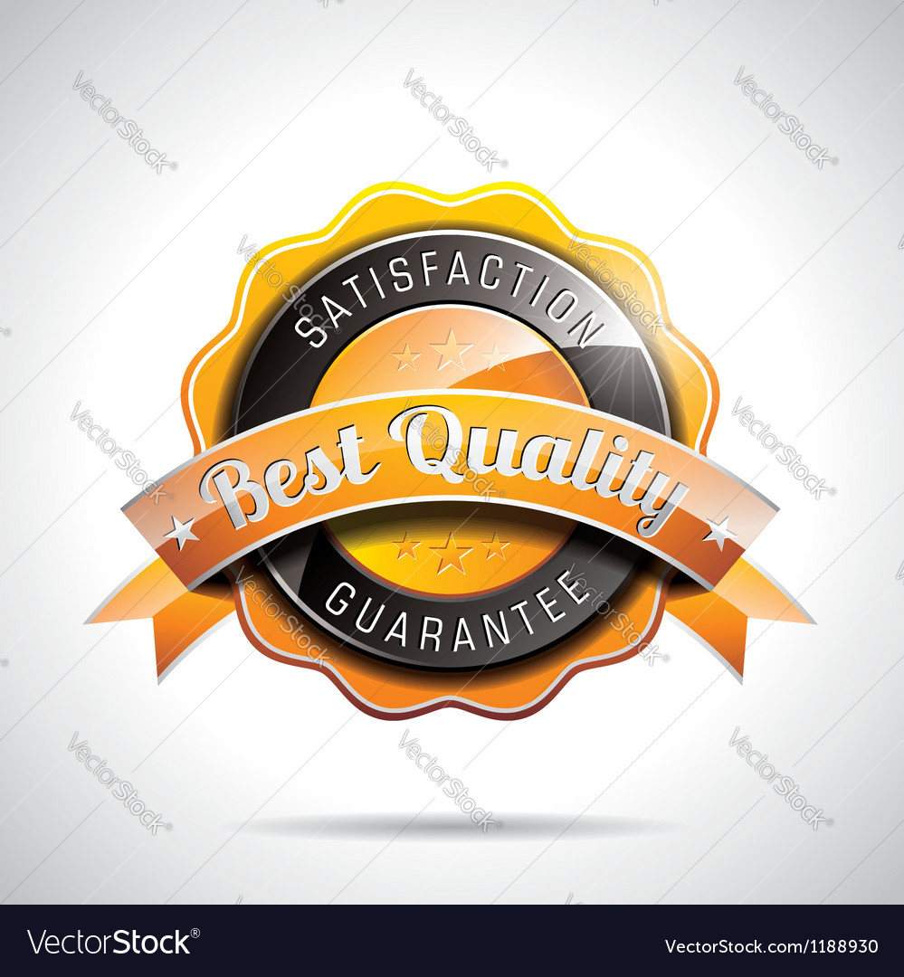 Best quality labels with shiny styled design vector | Price: 3 Credit (USD $3)