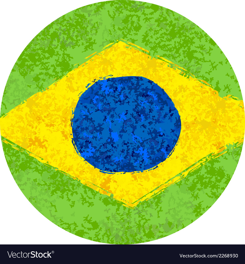 Brazil summer 2014 water color background vector | Price: 1 Credit (USD $1)