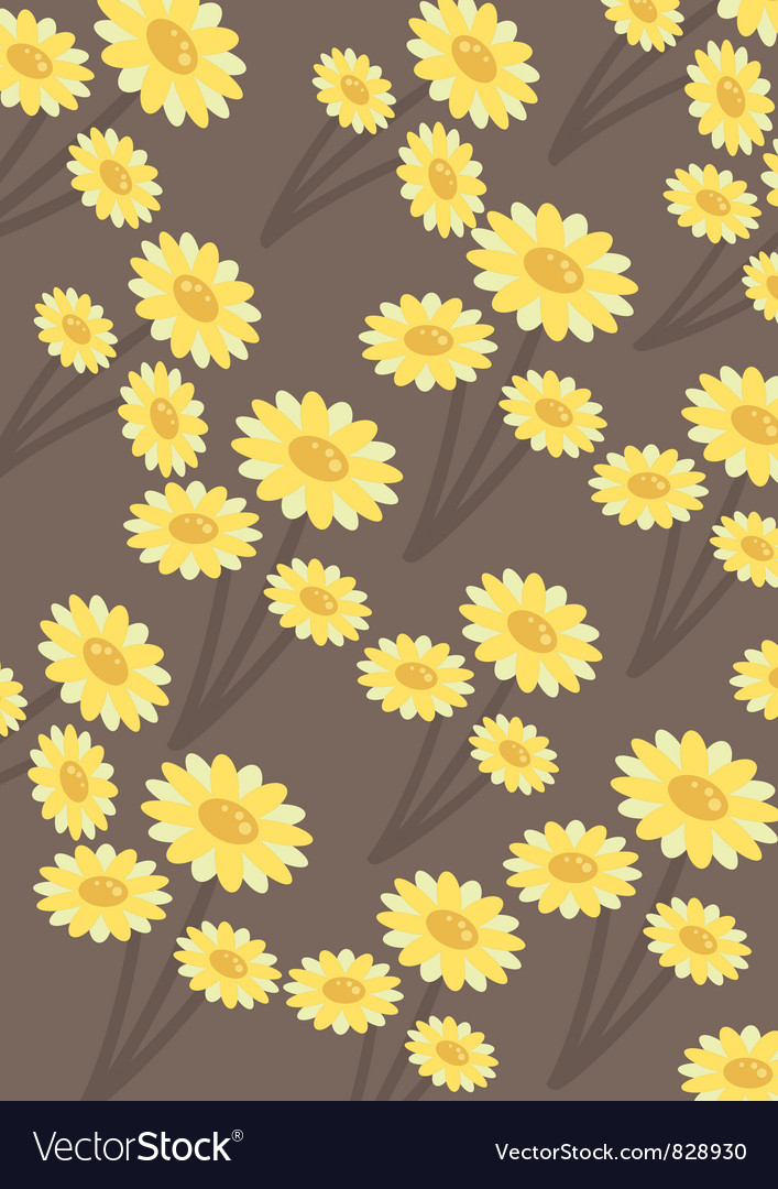 Chrysanthemums wallpaper vector | Price: 1 Credit (USD $1)