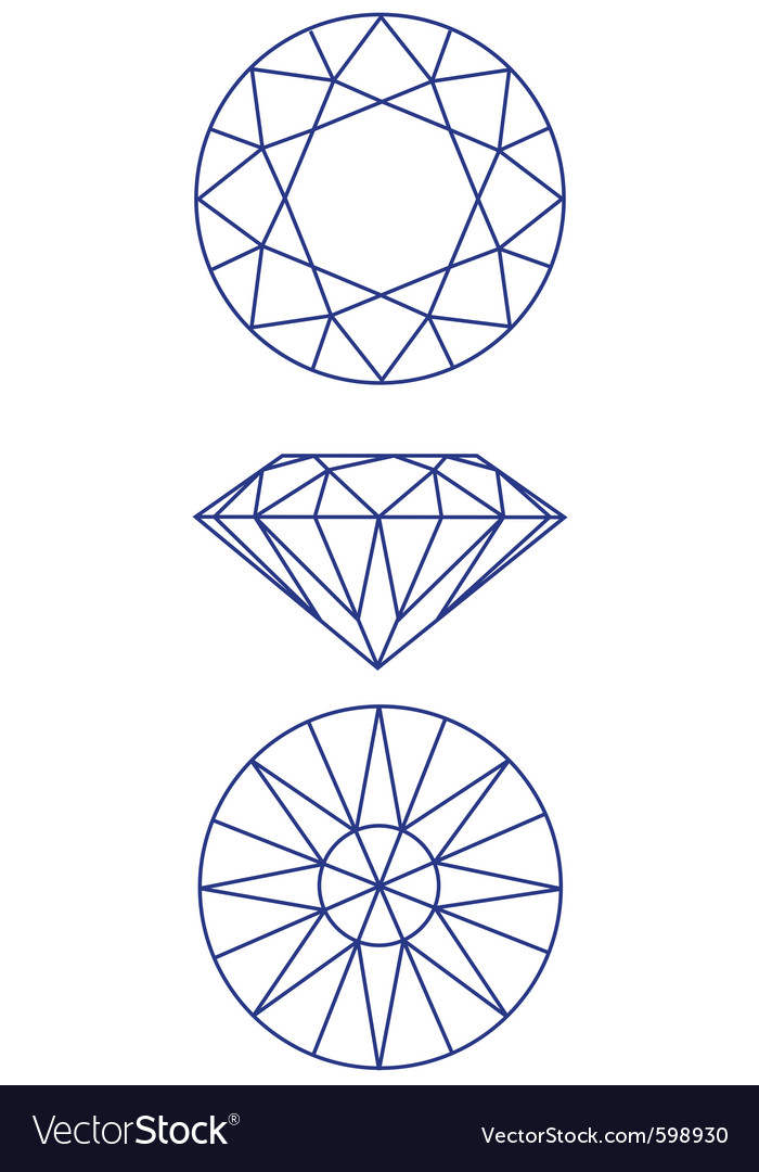 Diamond scheme vector | Price: 1 Credit (USD $1)