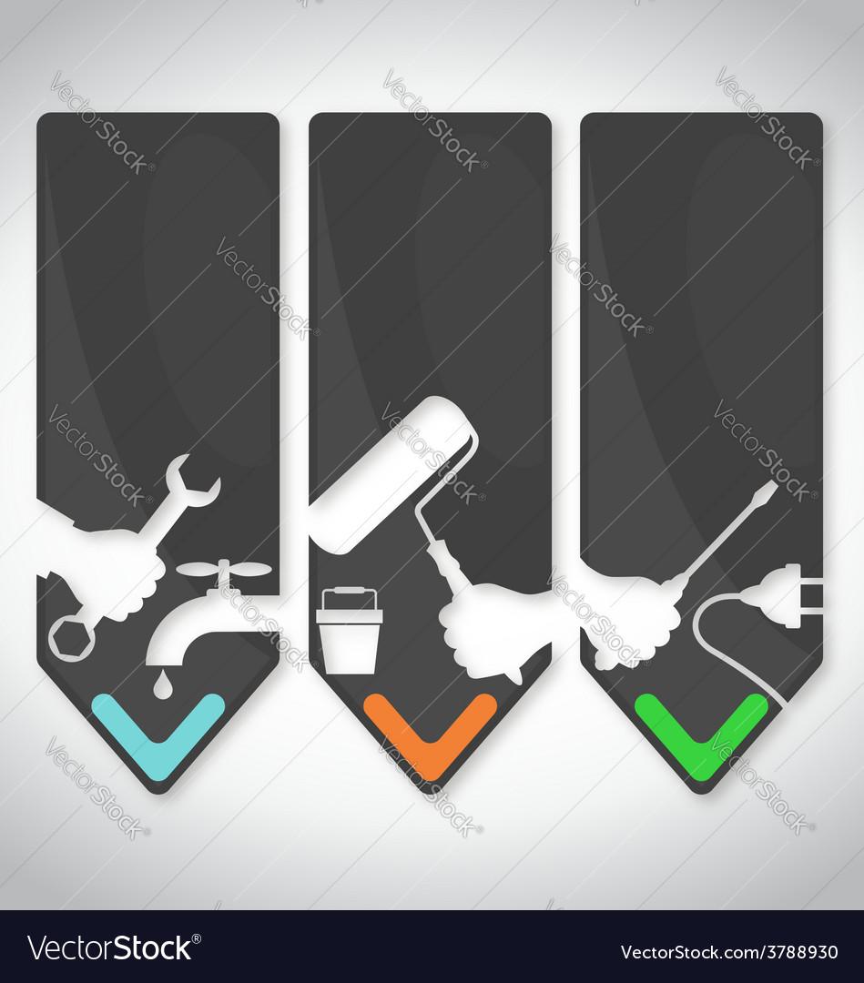 Repair symbol vector | Price: 1 Credit (USD $1)