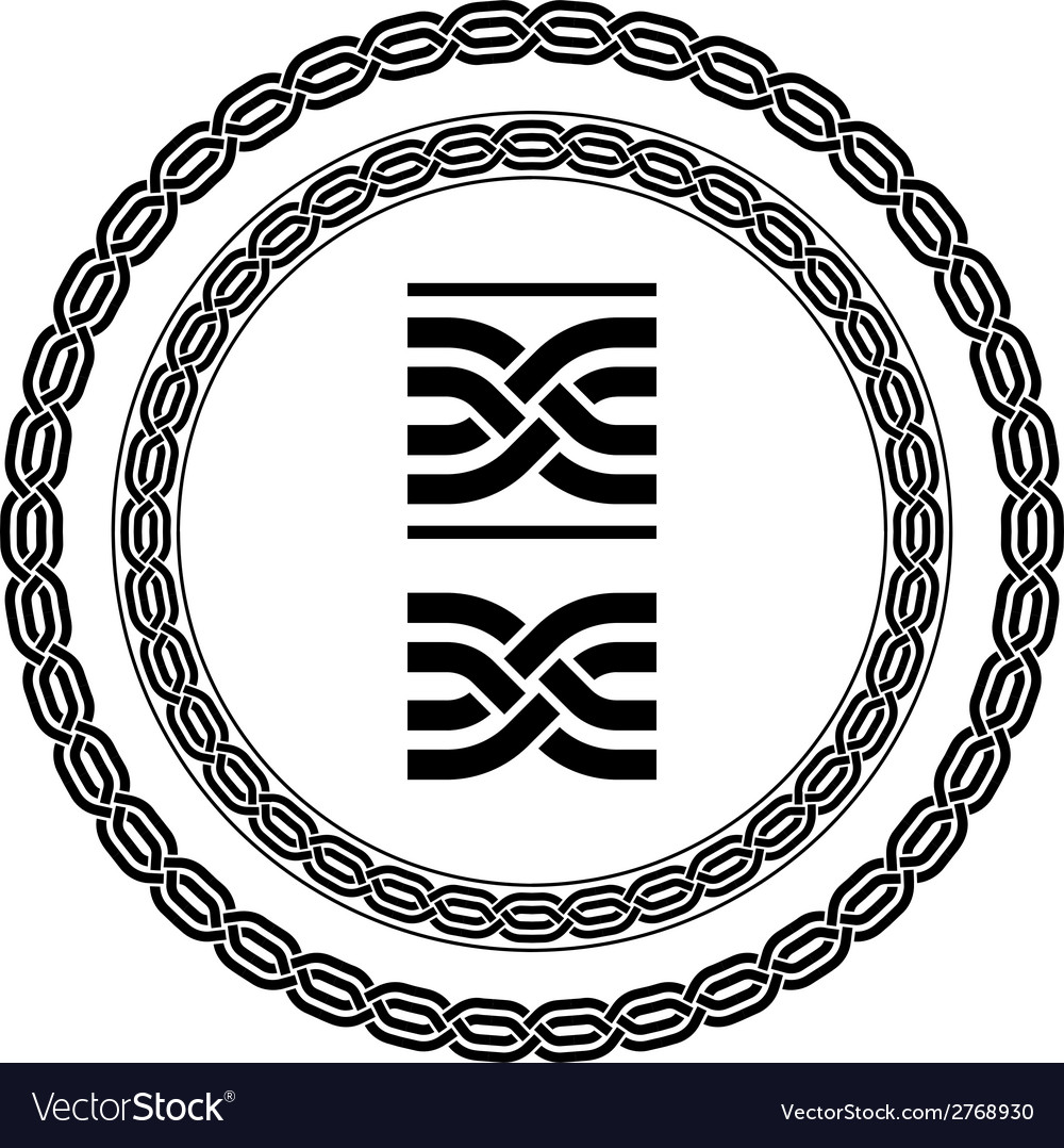 Seamless ornamental knot frames vector   Price: 1 Credit (USD $1)
