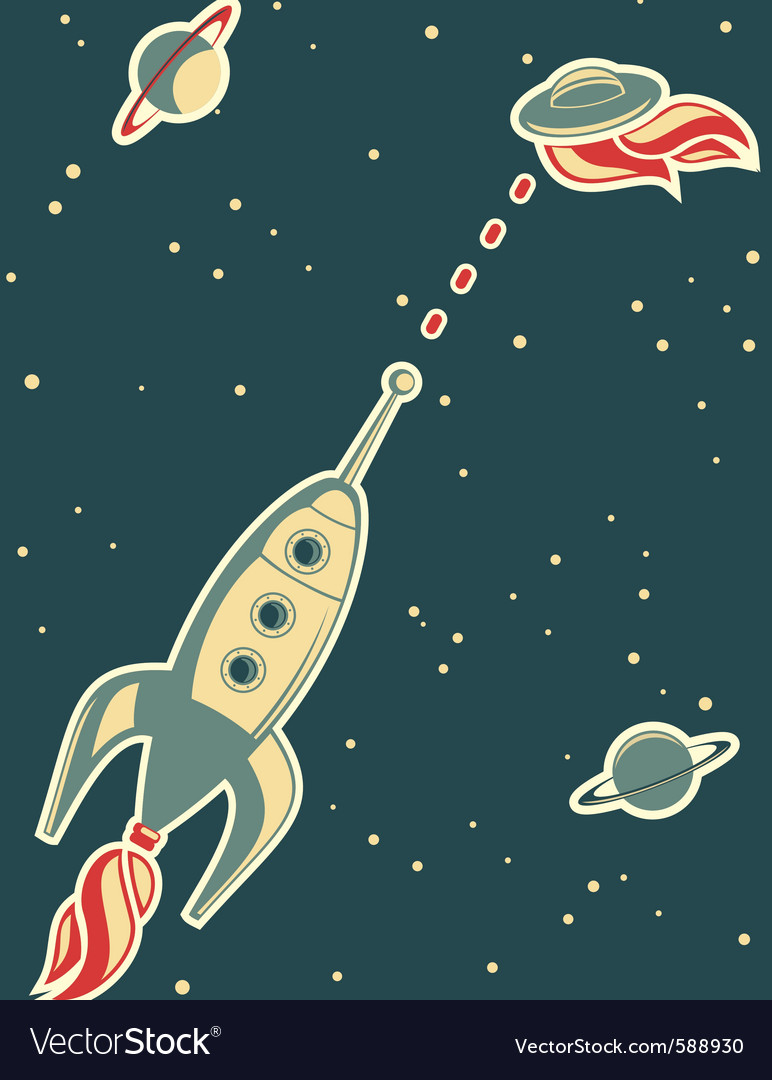 Spaceman background vector | Price: 1 Credit (USD $1)