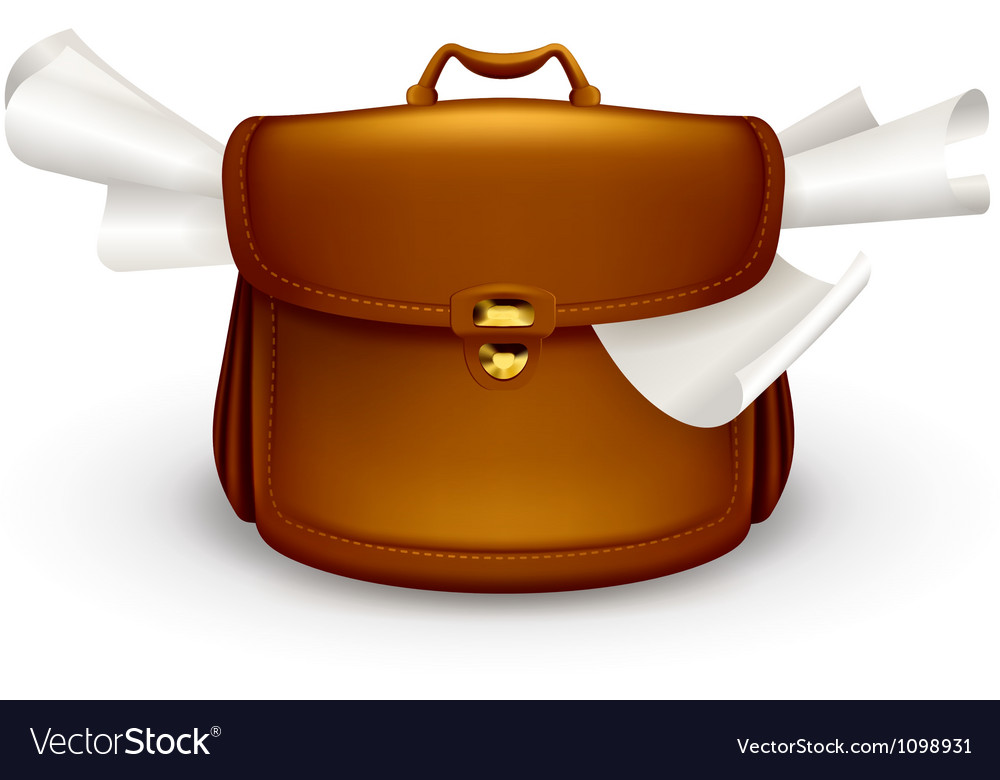 Briefcase vector | Price: 1 Credit (USD $1)