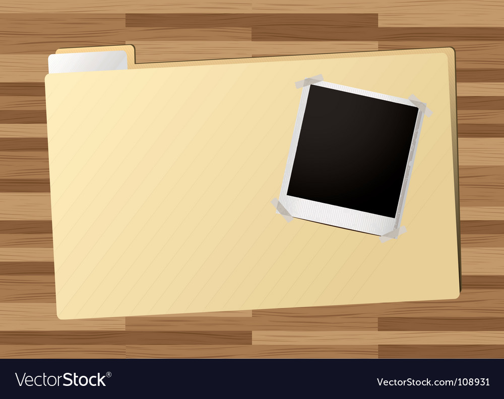 Business folder icon vector | Price: 1 Credit (USD $1)