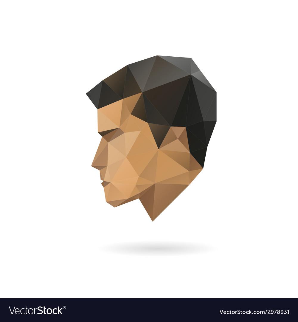 Fashion man silhouette vector | Price: 1 Credit (USD $1)