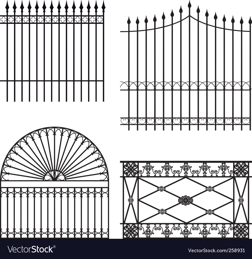 Fences vector | Price: 1 Credit (USD $1)