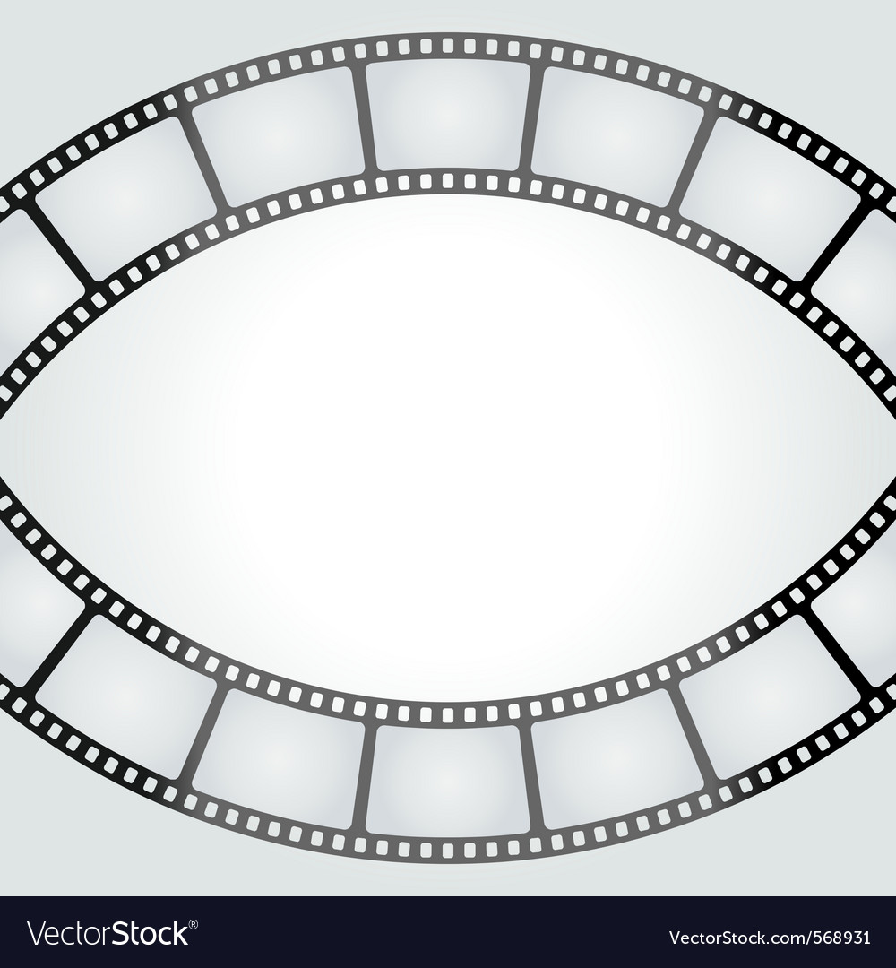 Film tape frame vector | Price: 1 Credit (USD $1)