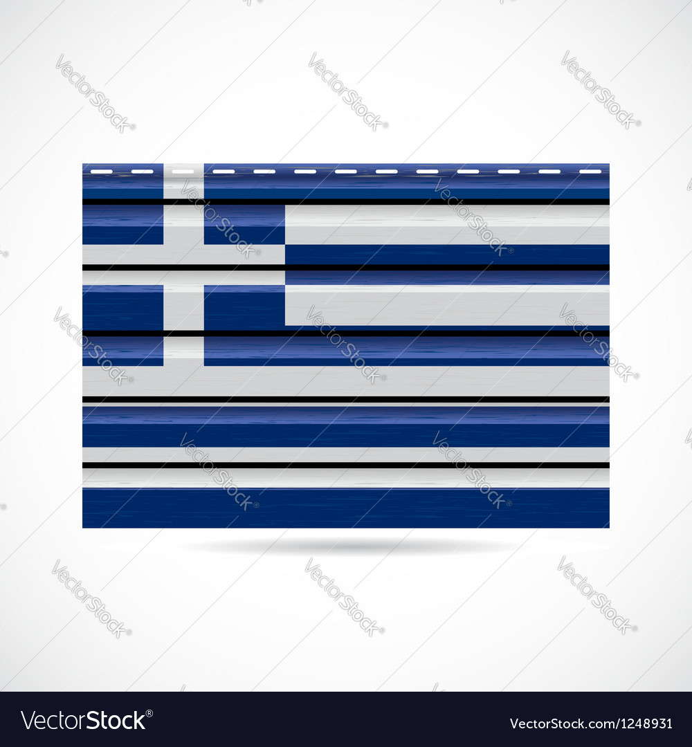 Greek siding produce company icon vector | Price: 1 Credit (USD $1)