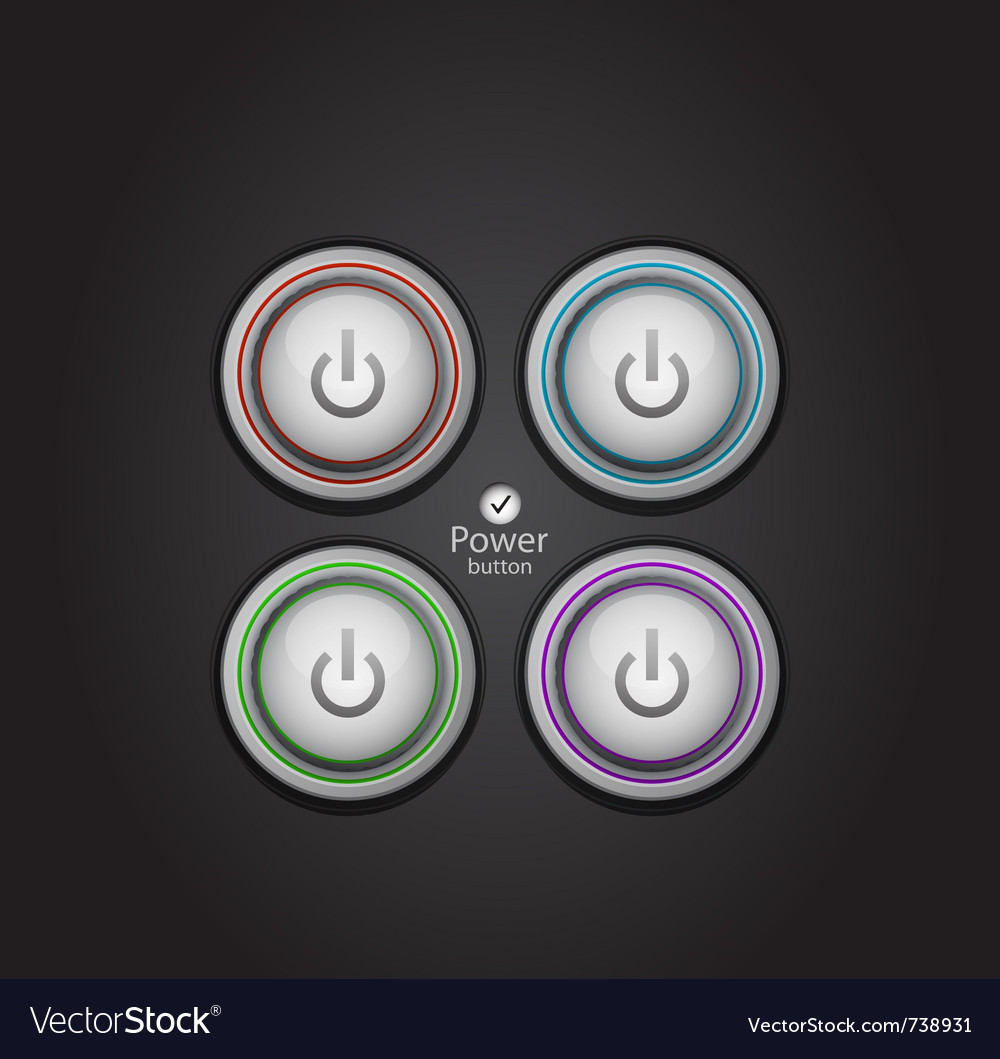 Power button vector   Price: 1 Credit (USD $1)
