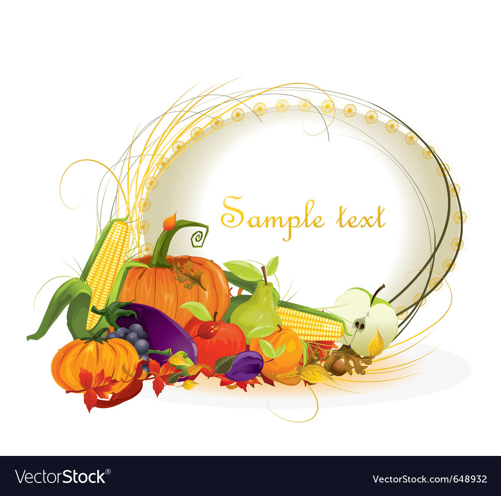 Autumn harvest vector | Price: 1 Credit (USD $1)