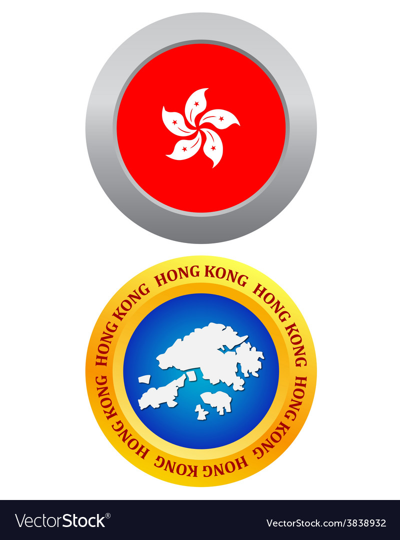 Button as a symbol hong kong vector | Price: 1 Credit (USD $1)
