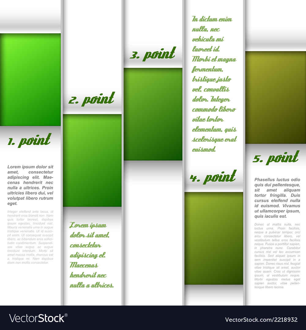 Window layout green vector | Price: 1 Credit (USD $1)