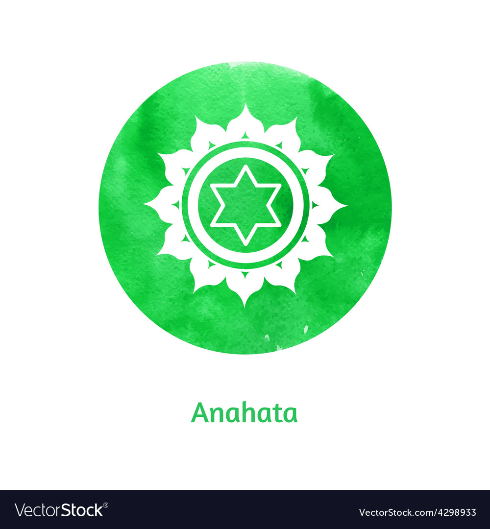 Anahata chakra vector | Price: 1 Credit (USD $1)