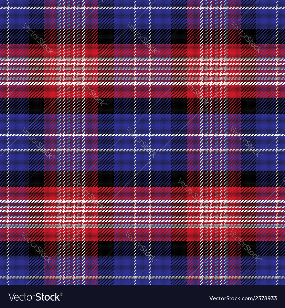Seamless scottish pattern saint andrews tartan vector | Price: 1 Credit (USD $1)