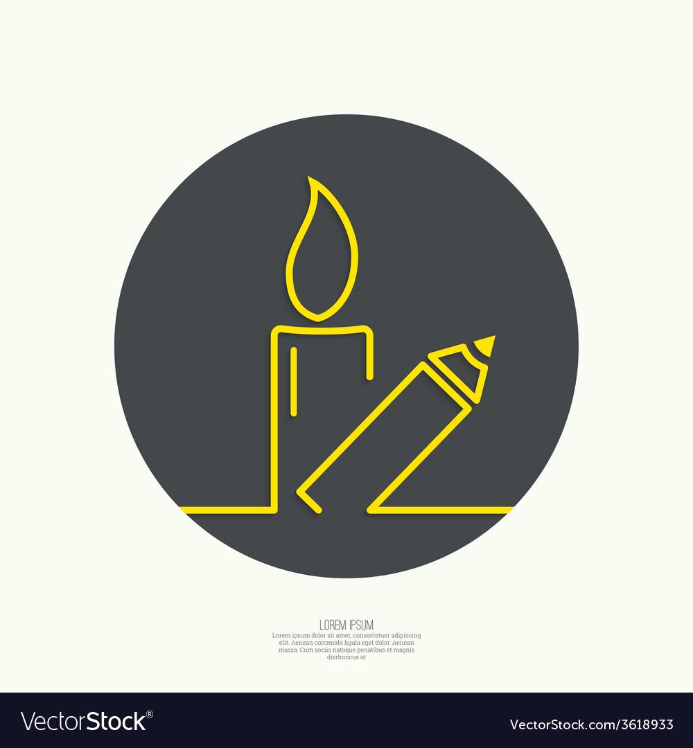 Symbol of solidarity in paris vector | Price: 1 Credit (USD $1)