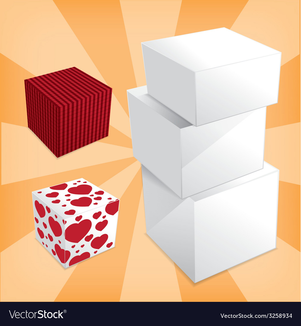 Box stack vector | Price: 1 Credit (USD $1)