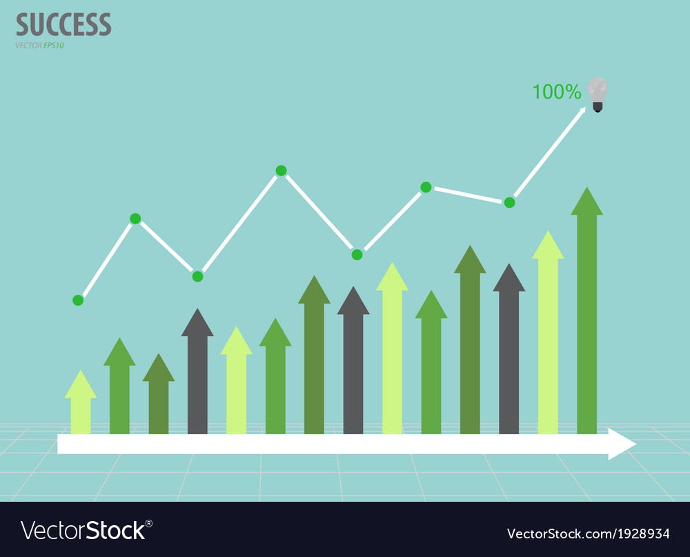 Business graph vector   Price: 1 Credit (USD $1)