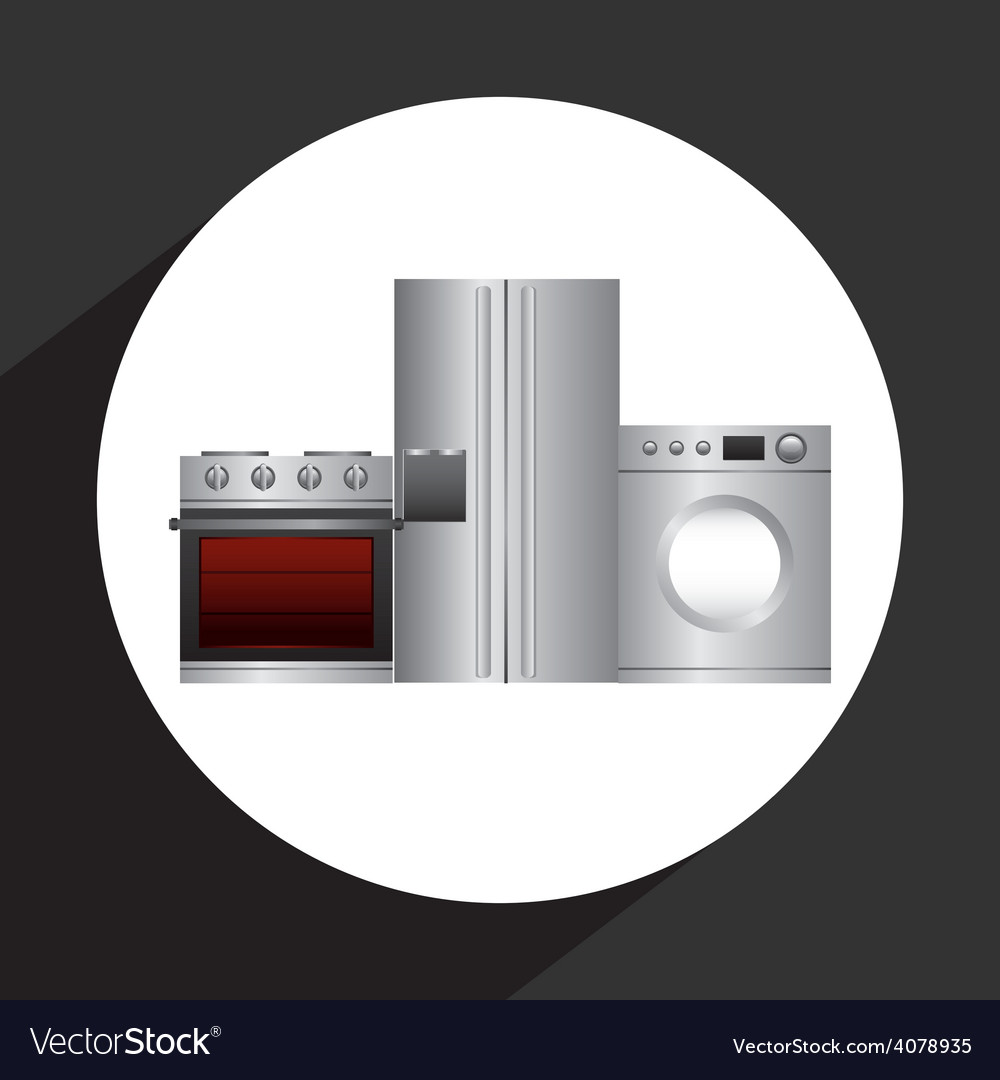 Home appliances vector   Price: 1 Credit (USD $1)