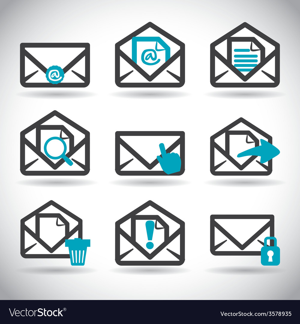 Mail icon design eps10 graphic vector | Price: 1 Credit (USD $1)