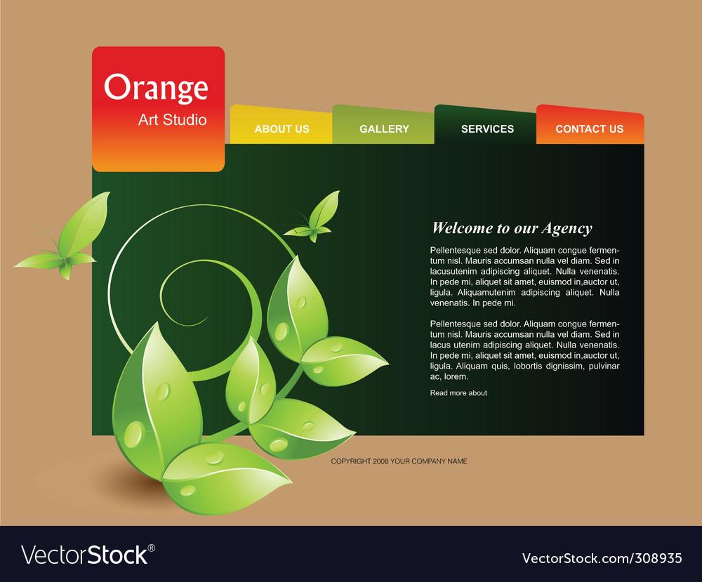 Organic template vector | Price: 3 Credit (USD $3)