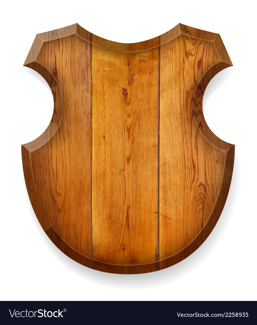 Realistic wooden board vector | Price: 1 Credit (USD $1)