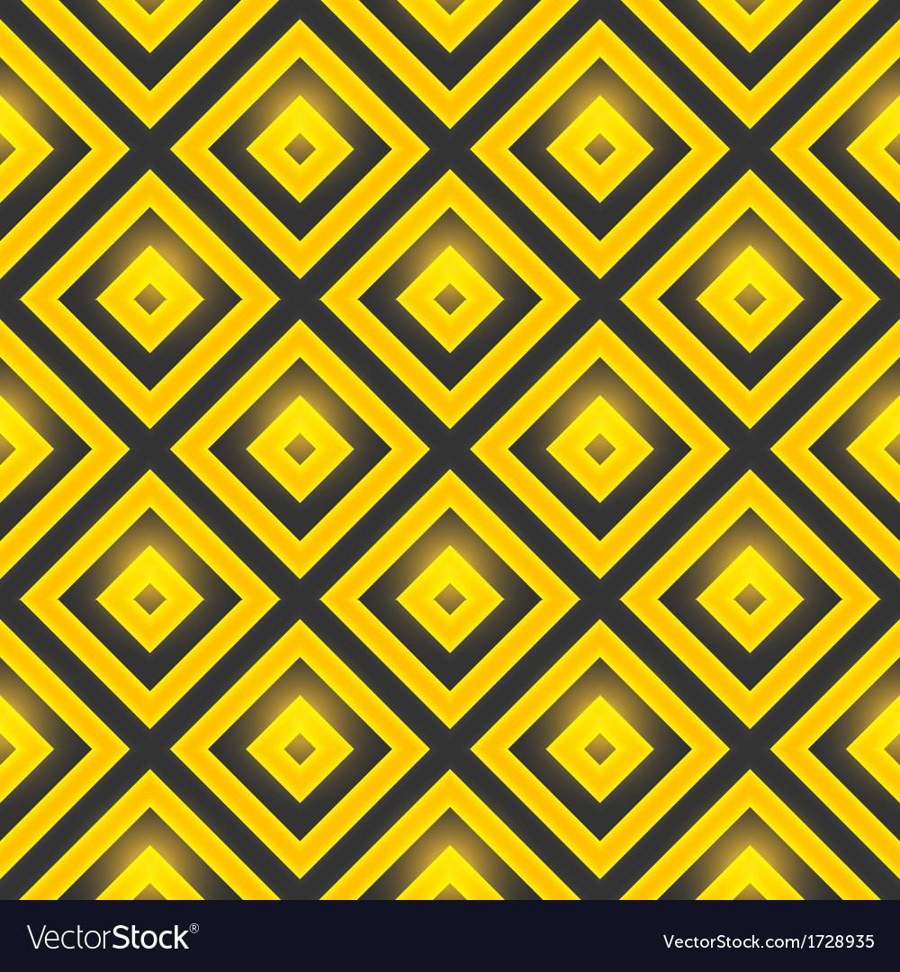 Retro pattern of geometric shapes seamless pattern vector | Price: 1 Credit (USD $1)