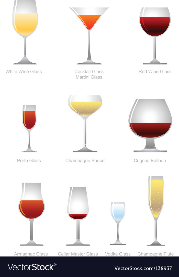 Alcoholic drink vector | Price: 1 Credit (USD $1)