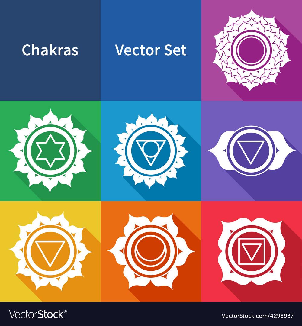 Chakras vector | Price: 1 Credit (USD $1)
