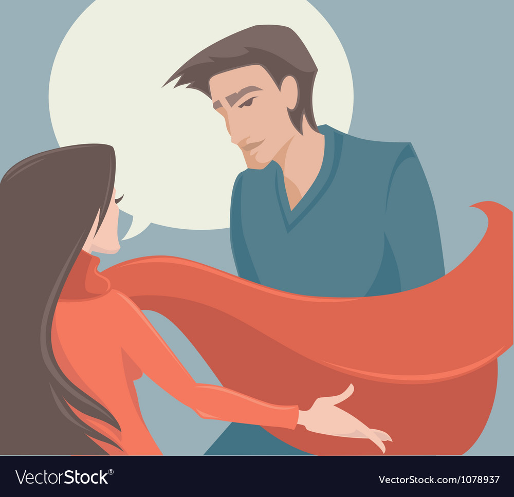 Couple man and woman vector   Price: 1 Credit (USD $1)