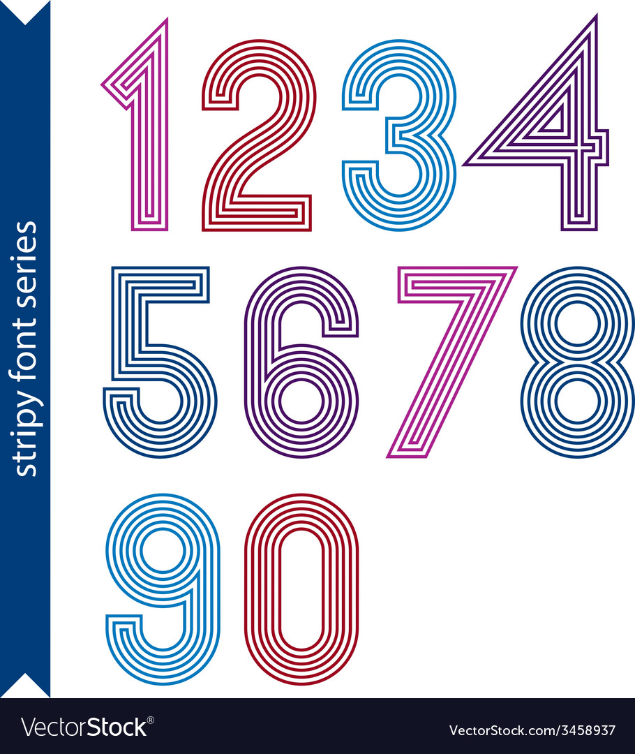 Ordinary geometric numbers created from parallel vector | Price: 1 Credit (USD $1)