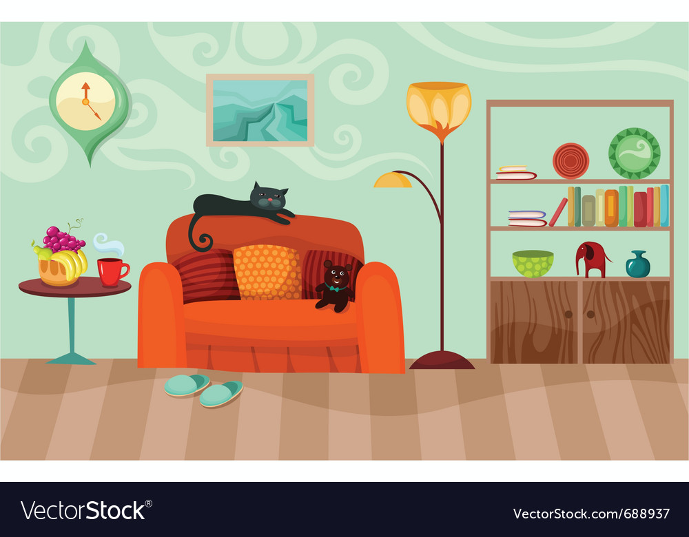 Room vector | Price: 3 Credit (USD $3)