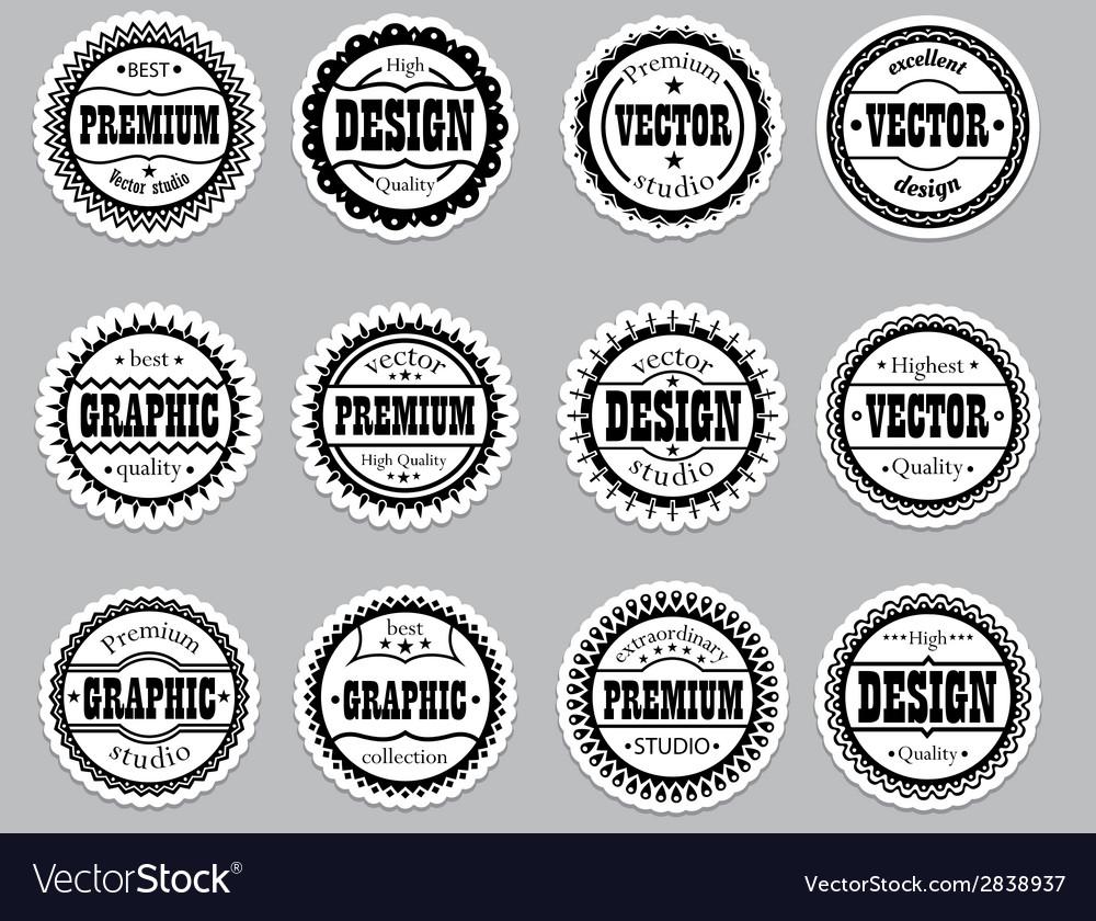Set icons premium design graphic vector | Price: 1 Credit (USD $1)