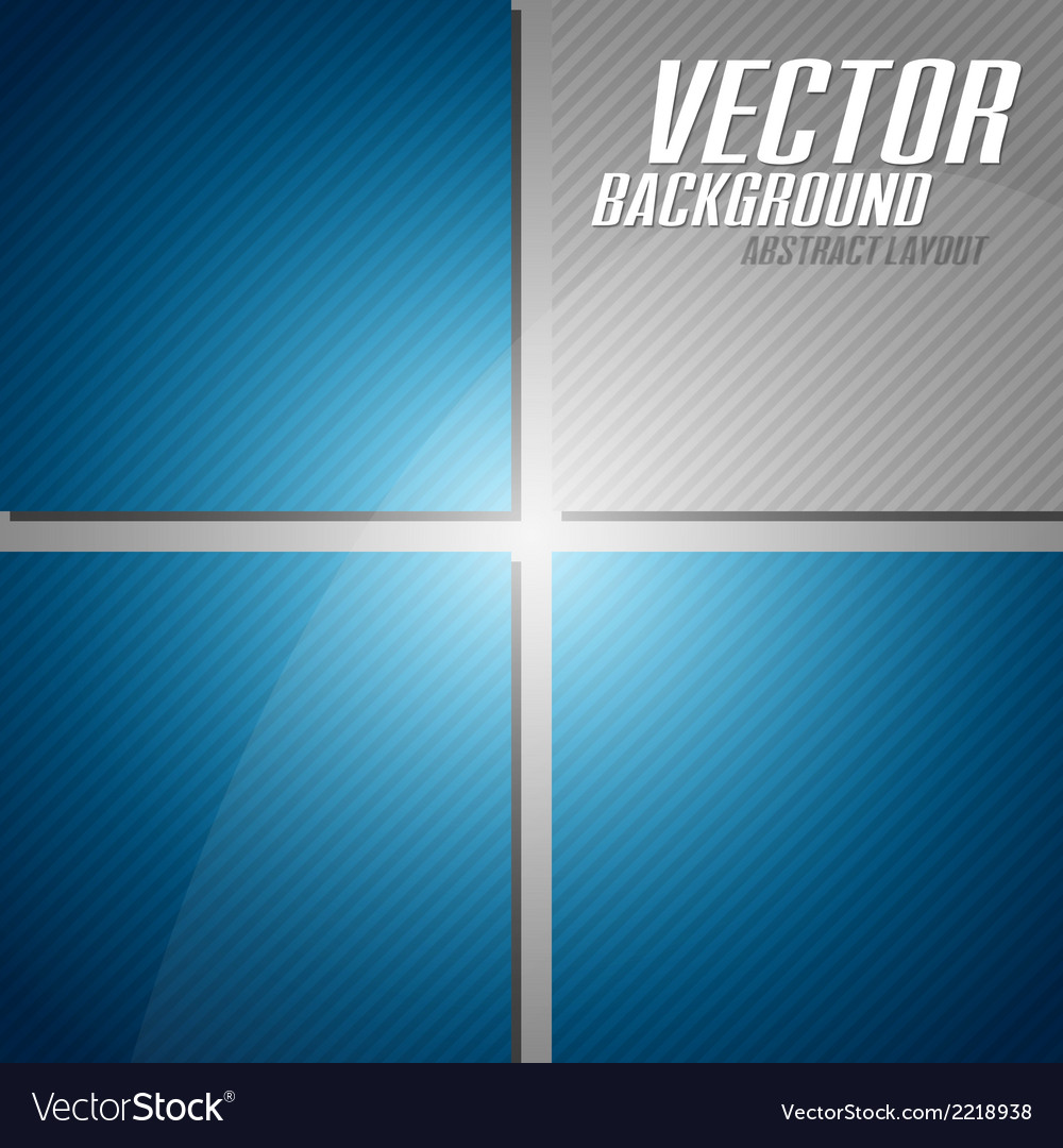 Blue layout vector | Price: 1 Credit (USD $1)