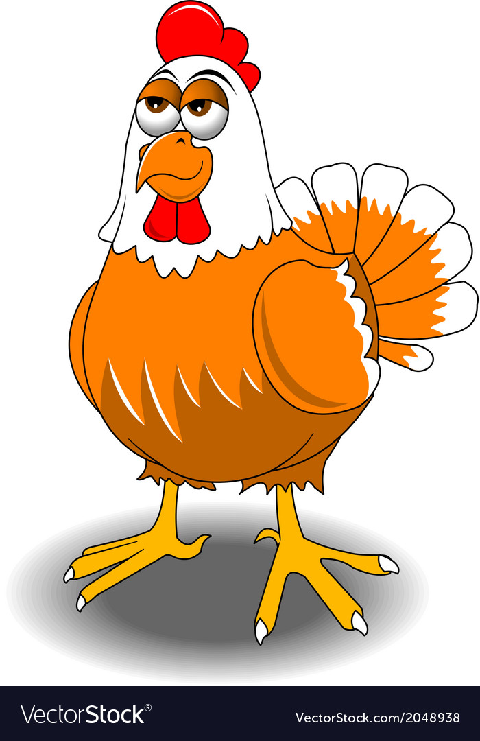 Cartoon chicken vector | Price: 1 Credit (USD $1)