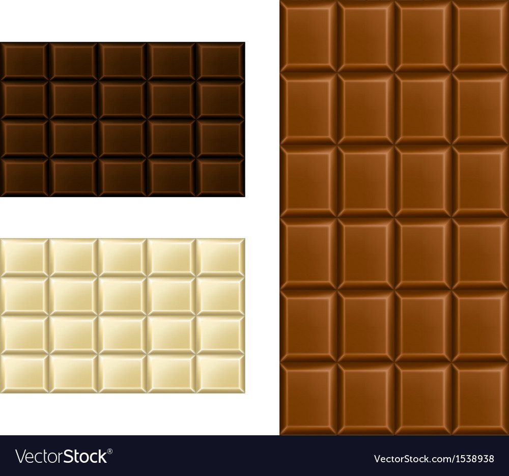 Chocolate bar set vector | Price: 1 Credit (USD $1)