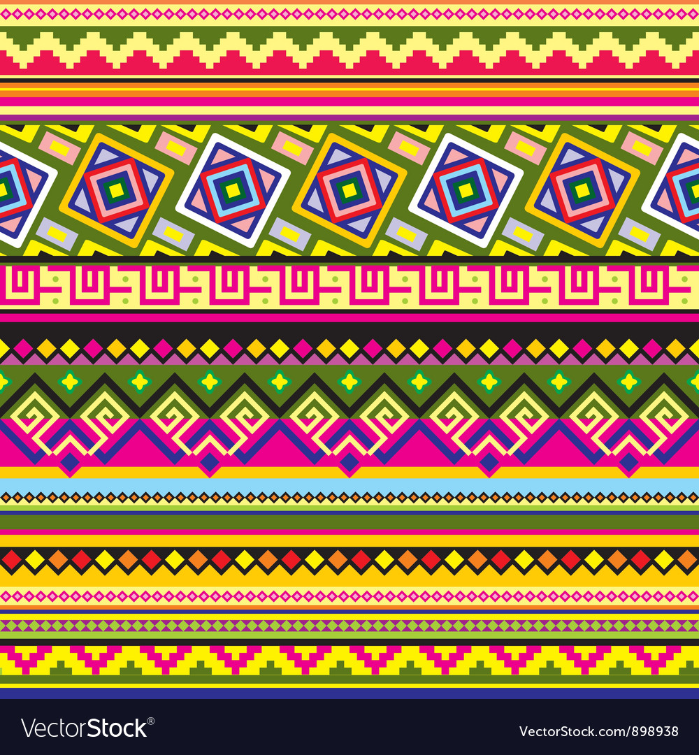 Latin american pattern vector | Price: 1 Credit (USD $1)