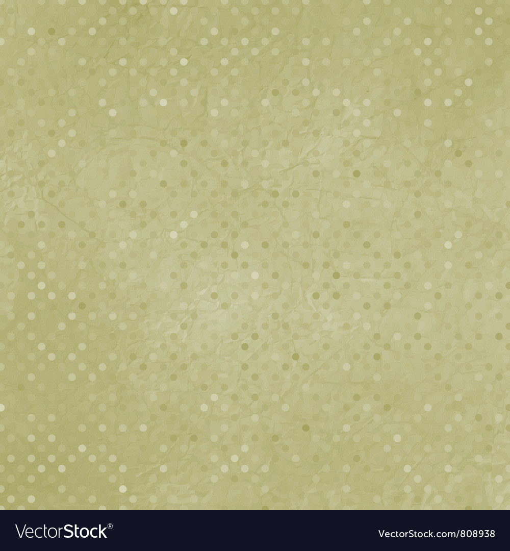 Vintage polka dots background vector | Price: 1 Credit (USD $1)