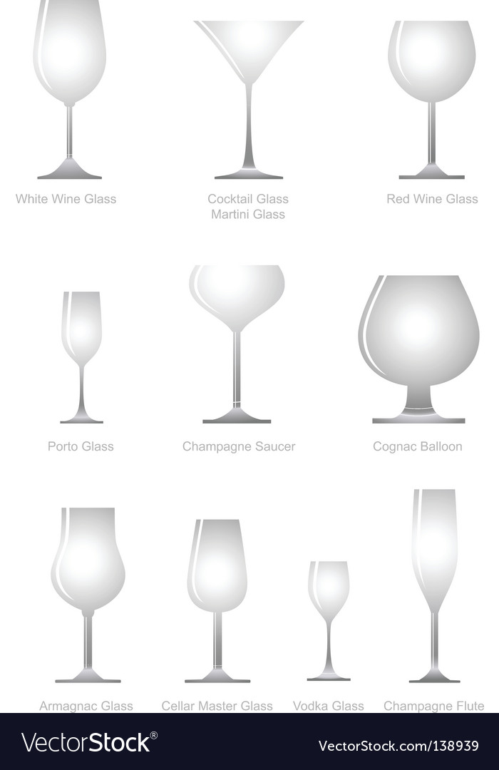 Alcoholic glass vector | Price: 1 Credit (USD $1)
