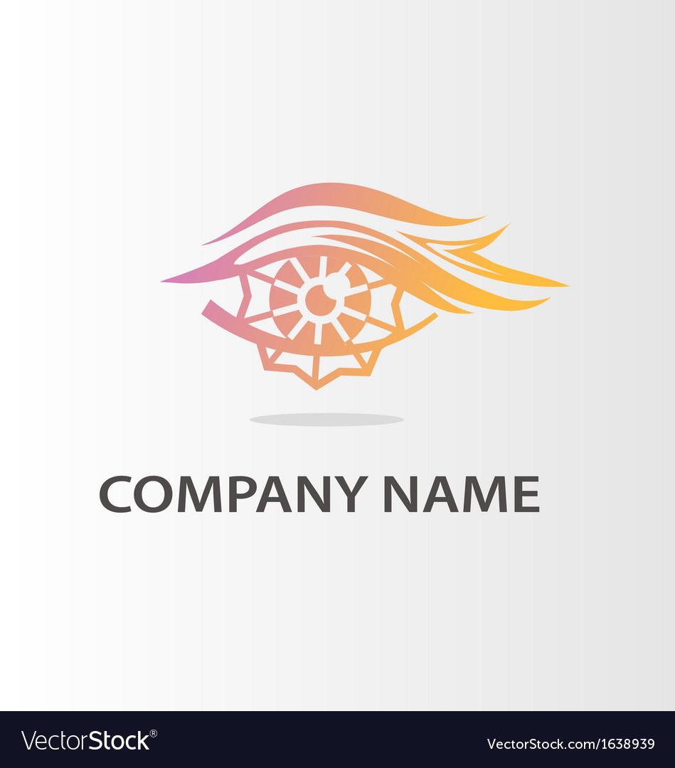 Fiery logo vector | Price: 1 Credit (USD $1)