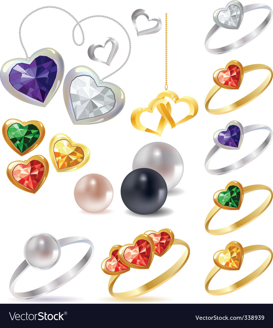 Jewels vector | Price: 1 Credit (USD $1)