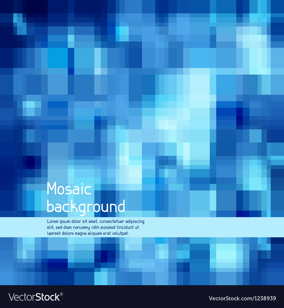Mosaic abstract high-tech background vector | Price: 1 Credit (USD $1)