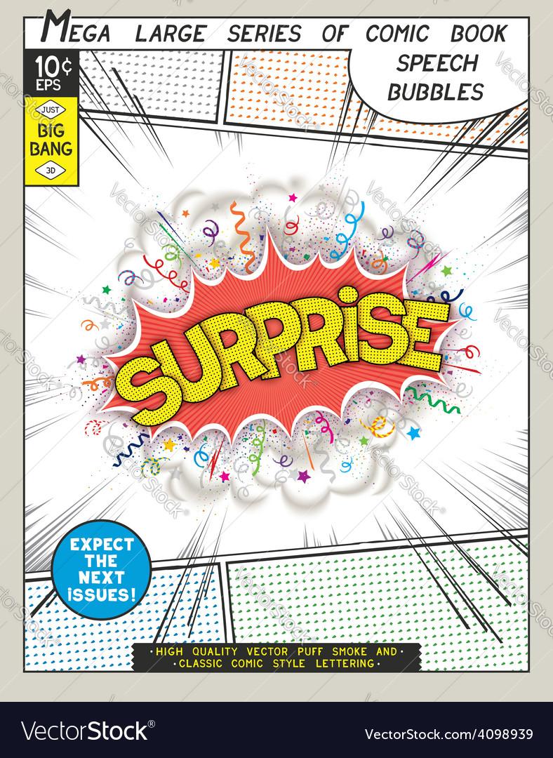 Series comics speech bubble vector   Price: 1 Credit (USD $1)