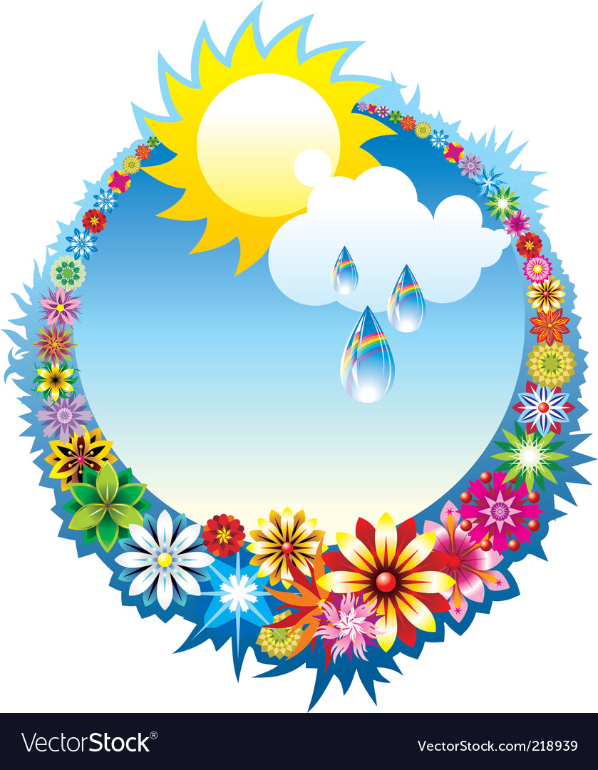 Summer composition vector | Price: 1 Credit (USD $1)