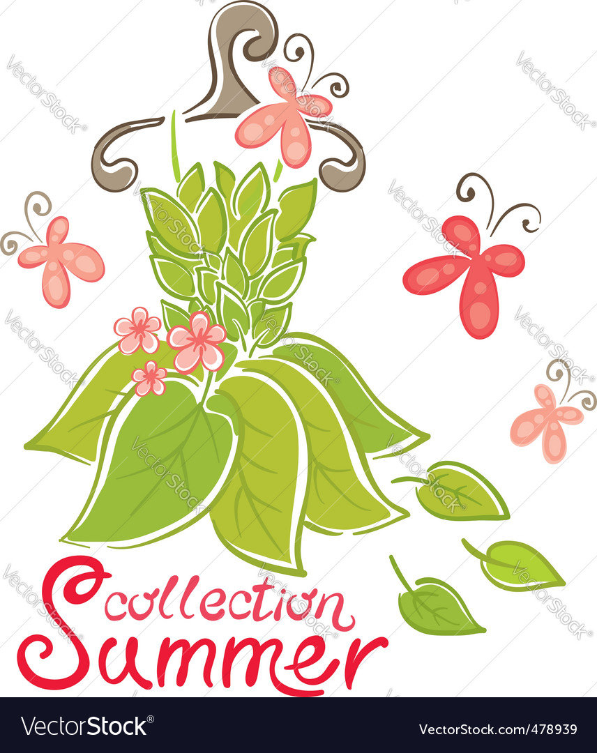 Summer fashion collection vector | Price: 1 Credit (USD $1)