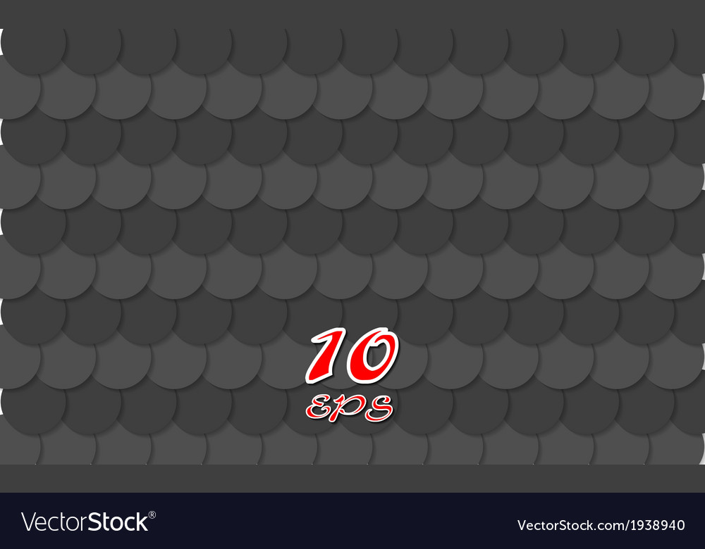 Abstract black circles tech background vector | Price: 1 Credit (USD $1)