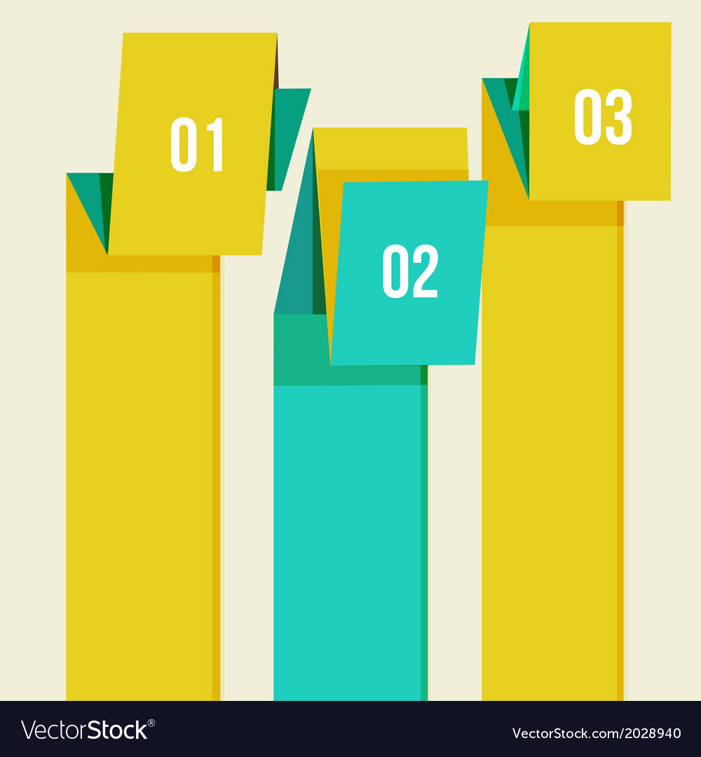 Flat modern curve colorful design template vector   Price: 1 Credit (USD $1)