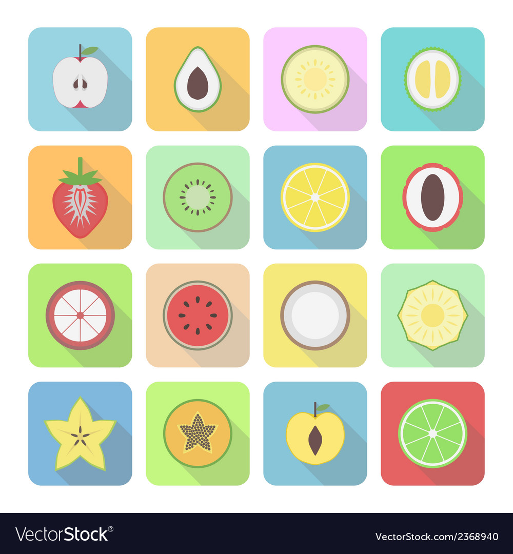 Fruiticon vector | Price: 1 Credit (USD $1)