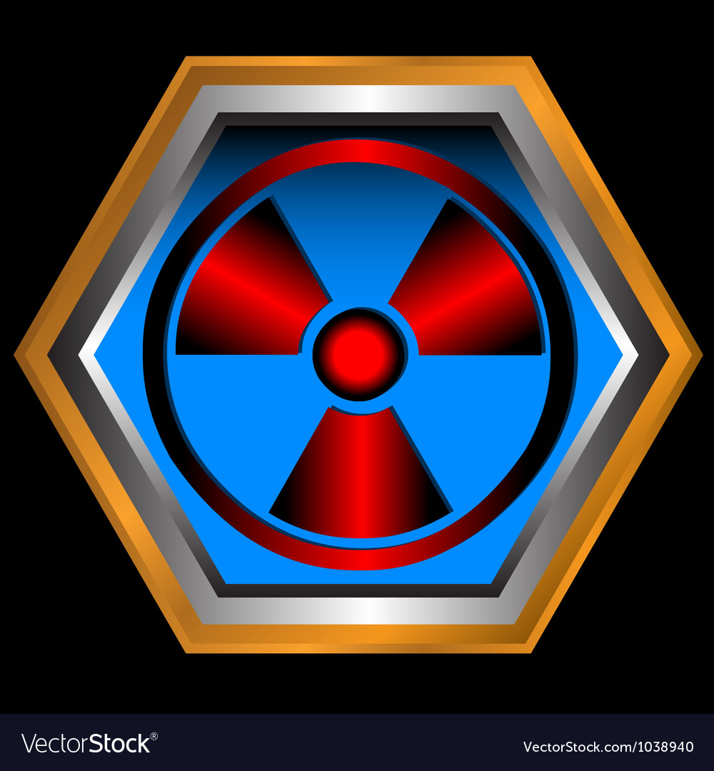 Radioactive symbol vector | Price: 1 Credit (USD $1)