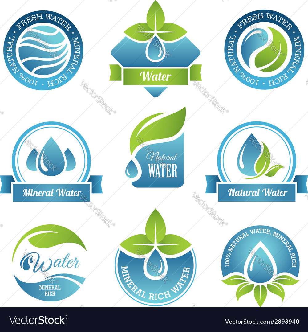 Water set2 vector | Price: 1 Credit (USD $1)